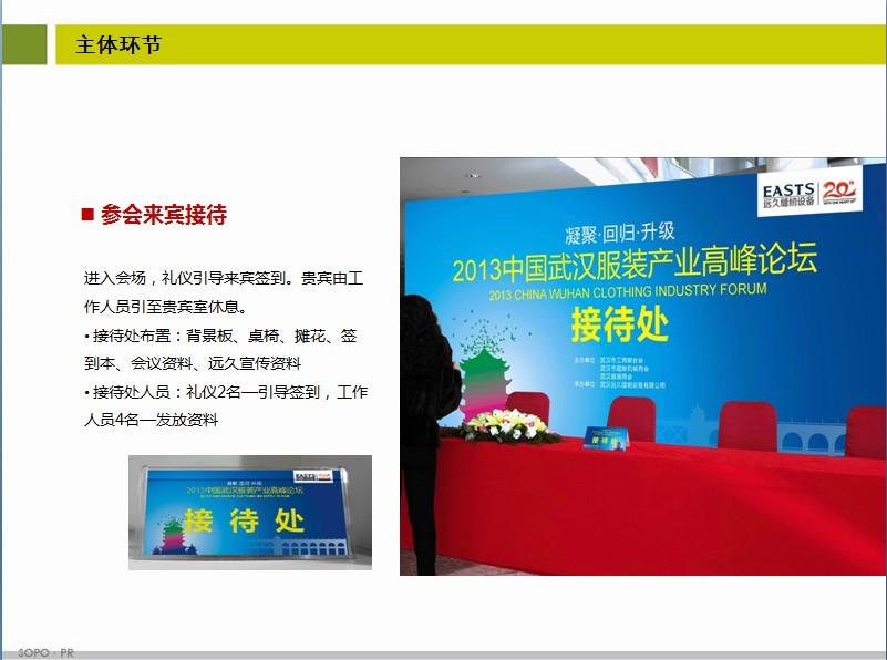 2013武汉服装高峰企业论坛