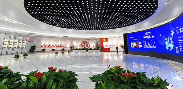 奥康国际展厅
